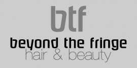 Beyond the Fringe logo, Yarrawonga VIC, Hair and beauty, hair salon, hairdresser, Eyelash extensions, wedding, skin treatments