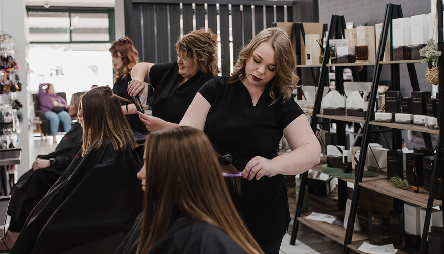 Beyond the Fringe, Yarrawonga VIC, Hair and beauty, hair salon, hairdresser, Eyelash extensions, wedding, skin treatments