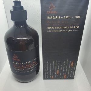 Urban rituelle Mandarin and basil hand and body wash